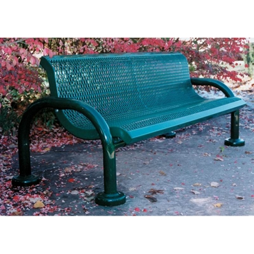 Picture for category Contoured Outdoor Benches