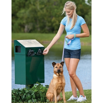 Dogipot Dog Valet Aluminum Pet Waste Container