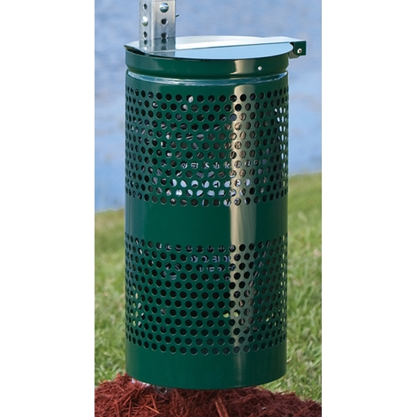 Picture of Dogipot Accessories 10 Gallon Steel Waste Receptacle