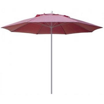 Fiberbuilt Market Umbrella 11 Ft. Octagon with One Piece Powder Coated Pole