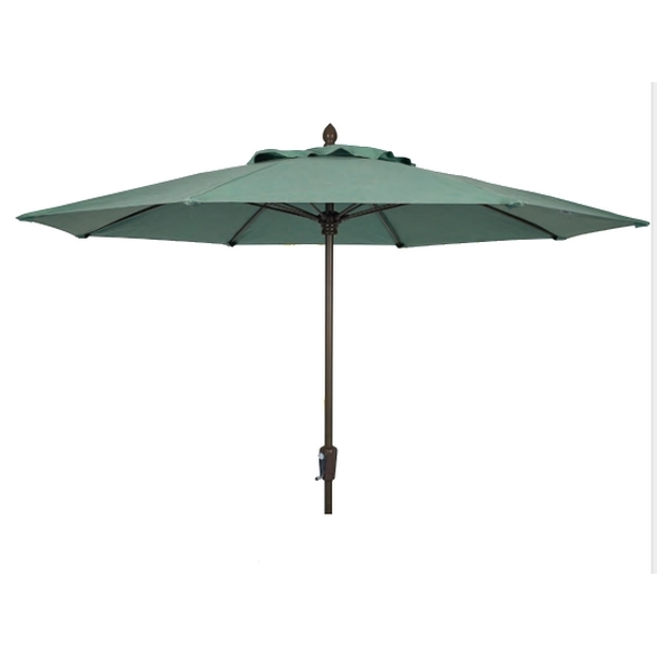 Picture of Fiberbuilt Market Umbrella 9 Foot Octagon with Two Piece Powder Coated Pole and Marine Grade Fabric