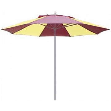 Fiberbuilt Market Umbrella 9 Foot Octagon with Two Piece Powder Coated Pole