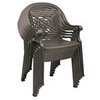 Victoria Classic Plastic Resin Stacking Armchair