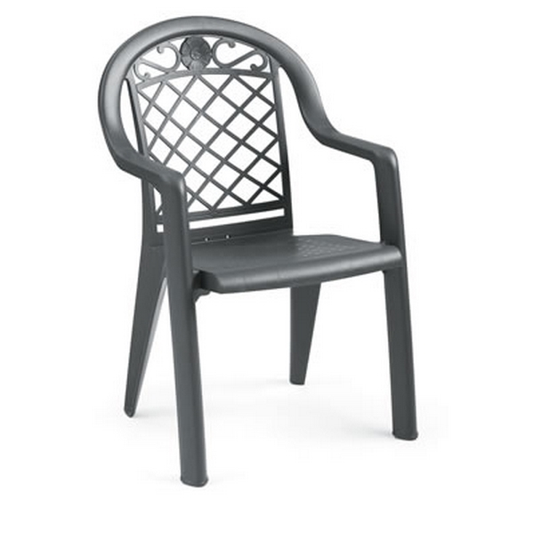 Picture of Savannah Plastic Resin Stacking Armchair