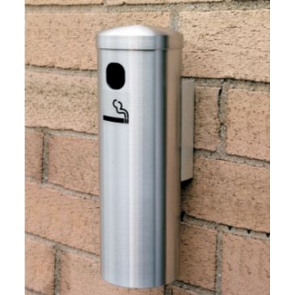Glaro Cigarette Wall Post Outdoor Ashtray