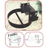 Campground Fire Ring 300 Square In. Cooking Grill Welded Steel