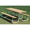 Picnic Table Frame 6 Ft. Welded 2 3/8 inch Galvanized Steel