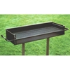 Picture of Group Grill 860 Square In. Welded Steel with two Galvanized 2 3/8 In. Pedestals, In-Ground Mount