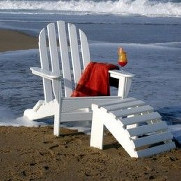 Picture of Polywood Classic Adirondack Recycled Plastic Chair