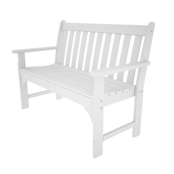 Picture of Polywood Vineyard 48 In. Garden Bench Recycled Plastic