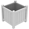 Picture of Polywood Traditional 16 In. Square Garden Planter Recycled Plastic