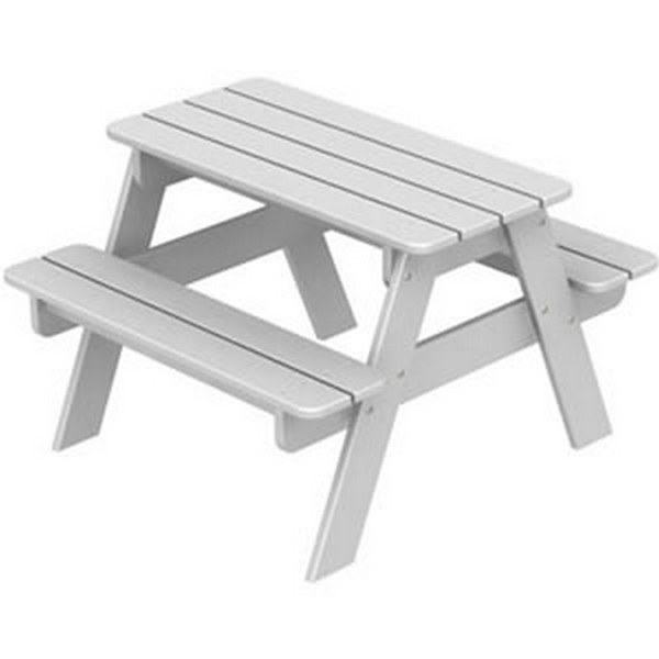Picture of Polywood Kids Collection Children's Picnic Tables Recycled Plastic