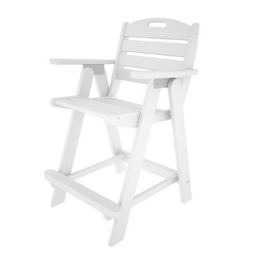 Picture of Polywood Nautical Counter Chair Recycled Plastic