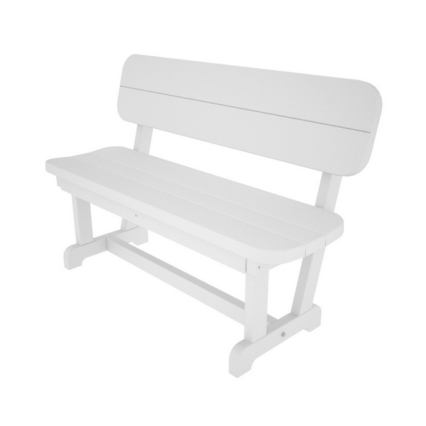 Picture of Polywood Park 48 In. Bench Recycled Plastic