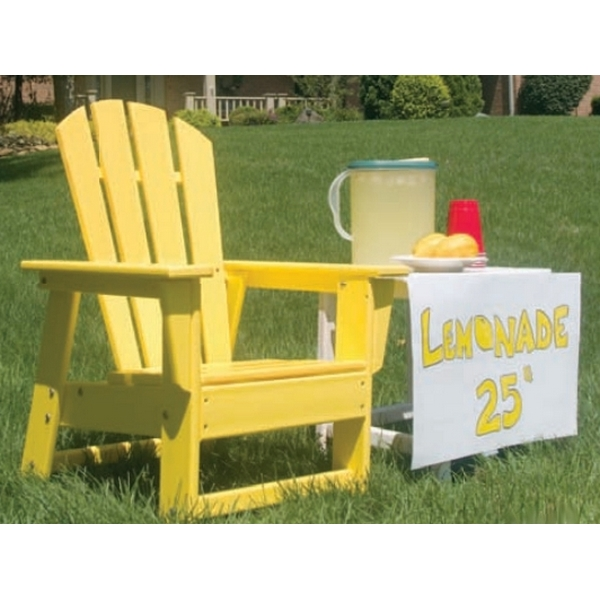 Picture of Polywood Kids Adirondack South Beach Dining Chair Recycled Plastic