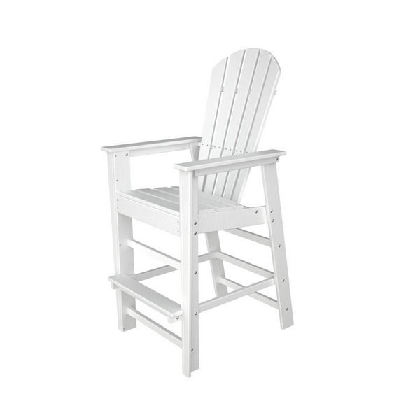 Picture of Polywood South Beach Bar Chair Recycled Plastic