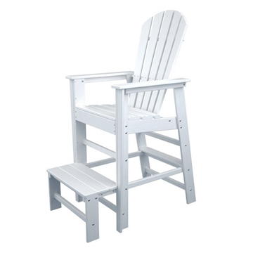 Picture of Polywood South Beach Lifeguard Chair Recycled Plastic