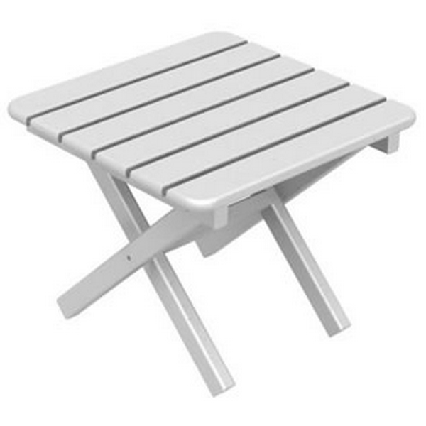 Picture of Polywood Square Side Table 18 In. Recycled Plastic