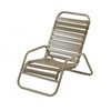 "St. Maarten Sand Chair, Aluminum Frame & 2"" Vinyl Straps"