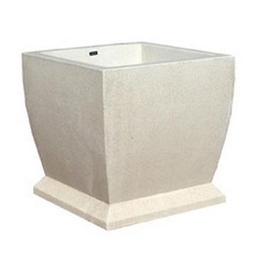 "48"" Square Concrete Planter, 1700 Lbs."