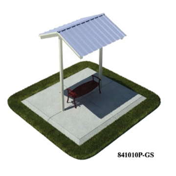 Picture of 10x10 Ft. All-Steel Mini Shelter, Inground Mount