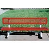 Picture of Child's Bench with Back 6 Ft. Plastic Coated Expanded Metal with 2 3/8 In. Galvanized Tube, Portable