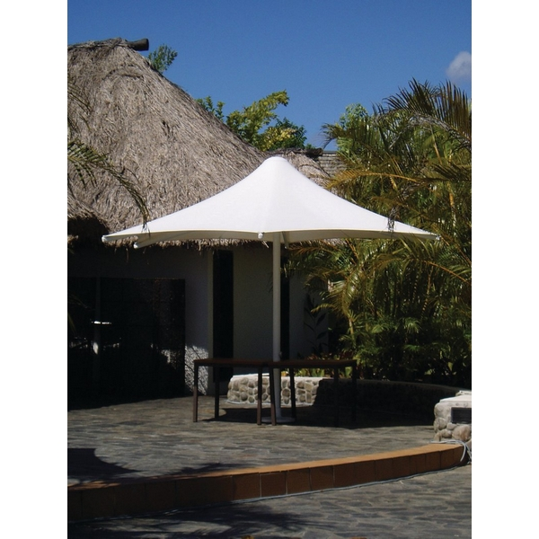 Picture of Skyspan 13 Ft. Square Umbrella PVC Coated Polyester  with Aluminum Frame