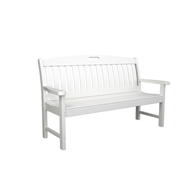 Picture of Polywood Nautical Style 60 In. Bench Recycled Plastic