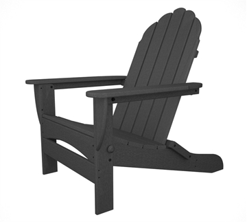Picture of Polywood Curved Back Adirondack Armchairs Recycled Plastic