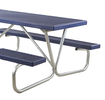 Picnic Table FRAME ONLY 6 or 8 Ft. 1 5/8 In. Bolted Galvanized Tube