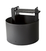 ADA Campground Fire Ring with Adjustable Height 300 Square In. Grill