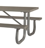 Picture of Picnic Table Frame 8 Ft. Welded 2 3/8 In. Galvanized Steel, Portable