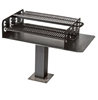 Group Grill 1008 Square In. Welded Steel with 6 In. Square Pedestal