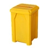 Picture of 32 Gallon Receptacle with Slot Lid for Paper Recycling and Liner