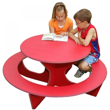 Picture of Children's Round Recycled Plastic Activity Table, 70 lbs.