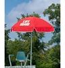 6.5 Foot Printed Lifeguard Tilting Umbrella with Acrylic Fabric