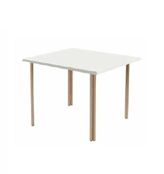 "36"" Square ADA Compliant Fiberglass Poolside Dining Table"