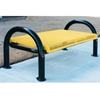Picture of Bench Without Back 4 Ft. Plastic Coated Expanded Metal with 2 7/8 In. Bent Frame, Portable or Surface Mount