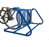 """Picture of 8 Space """"W"""" Style Steel Grid Bike Rack, Portable - 5 Ft."""