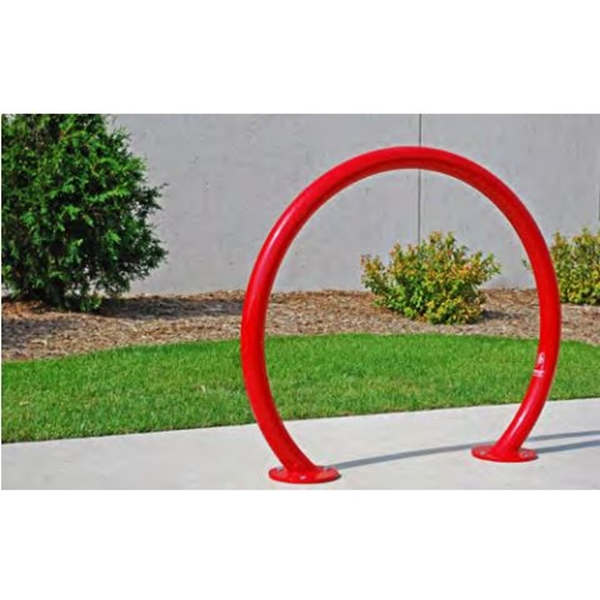 Picture of Horseshoe Style Bike Rack, Powder Coated Frame, Surface Mount 32 lbs.