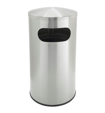 15 Gallon Stainless Steel Trash Can