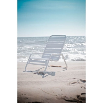 Sand Chair with Vinyl Straps and Aluminum Frame