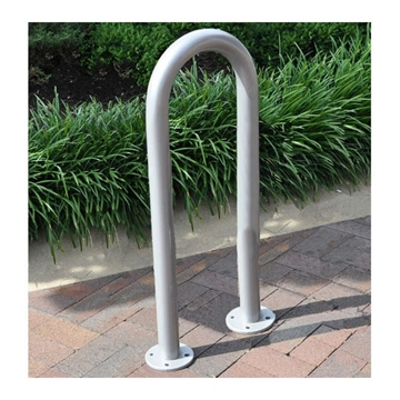 3 Space Single Wave Galvanized Bike Rack