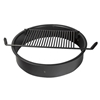 Picture of Fire Ring 300 Square In. Steel, Tilt Back In-Ground Mount