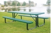 Picture of 6 Ft. RHINO Rectangular Thermoplastic Picnic Table with Portable Frame, 218 lbs.