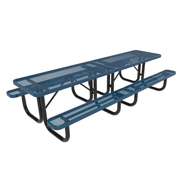 Picture of 10 Ft. RHINO Rectangular Thermoplastic Picnic Table with Portable Frame, 388 lbs.