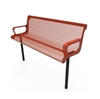 Picture of 4 Ft. RHINO Thermoplastic Contoured Arm Bench