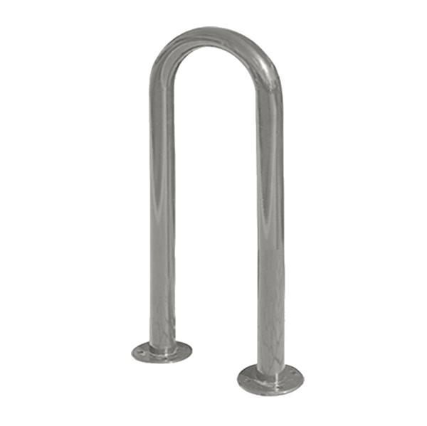 Bike Rack 3 Space Single Loop 15 In. Galvanized 1 5/8 in. Pipe