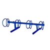 4 Space 5 Ft. Circle Bike Rack - Royal Blue