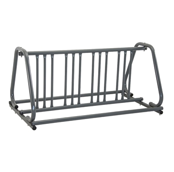 8 Space 5 Ft. Bike Rack A Style Bike Rack - Galvanized